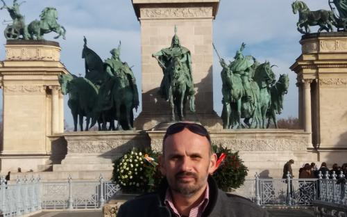 Heroes' Square with private guide in Budapest