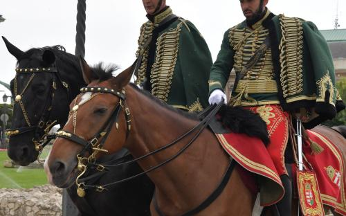 Hussars in Budapest