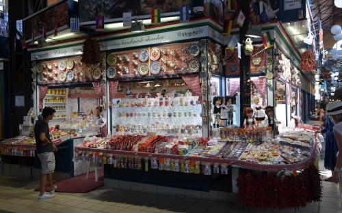 market hall of Budapest