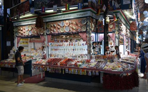 famous hungarian market hall in Budapest